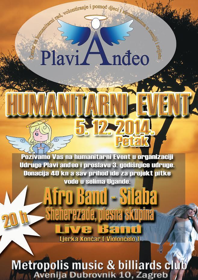 Humanitarni event Plavi anđeo