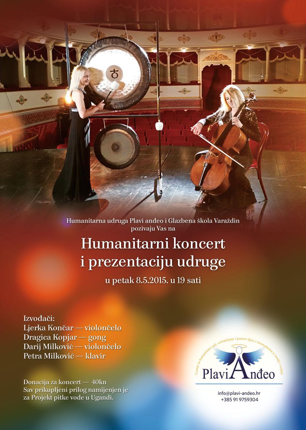 Humanitarni koncert u Varaždinu